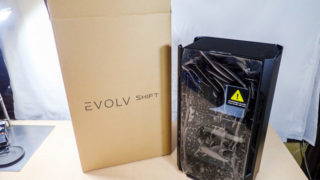 mini-ITX対応PCケース「ENTHOO EVOLV SHIFT」をレビュー